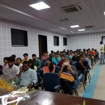 The audience at the awareness session