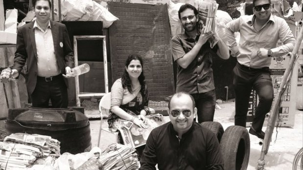 Entrepreneur India Magazine featured JAAGRUTI Waste Paper Recycling Services, along with itsCo-founders